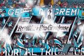 Torcida Geral do Grêmio, desenhada por Diegolan